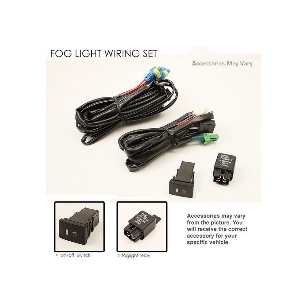 Spyder Auto ® - Clear OEM Style Fog Lights (5070456)