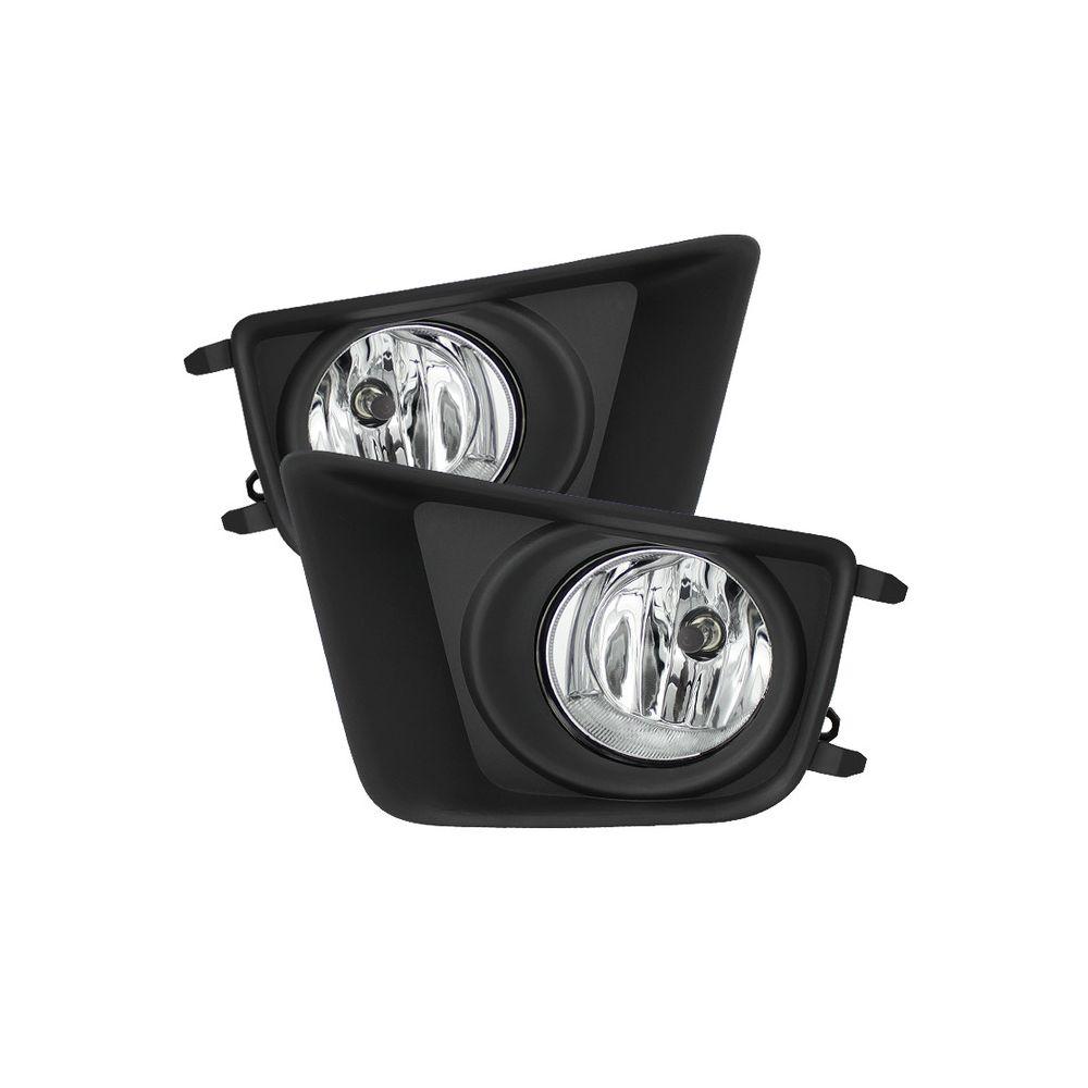 Spyder Auto ® - Clear OEM Style Fog Lights (5075116)