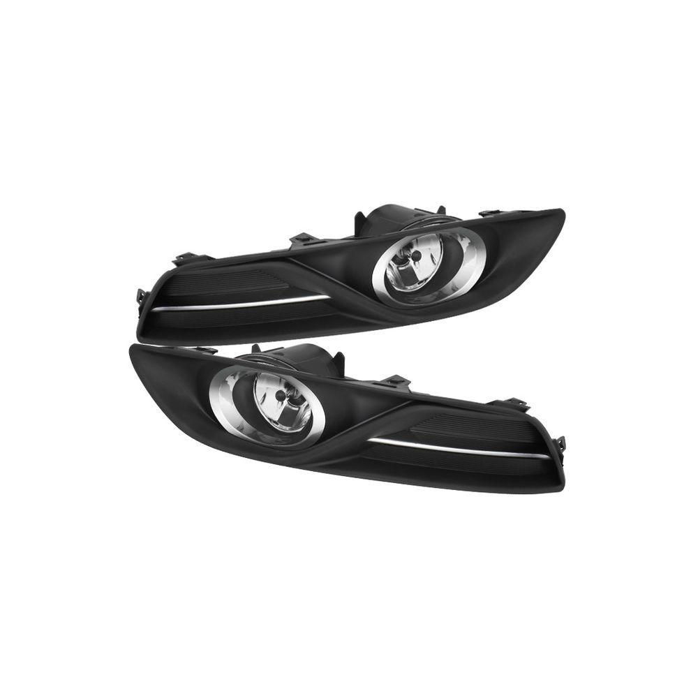 Spyder Auto ® - Clear OEM Style Fog Lights (5076106)