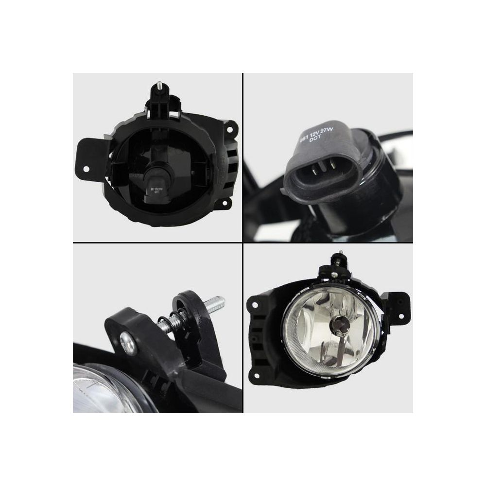 Spyder Auto ® - Clear OEM Style Fog Lights (5076144)