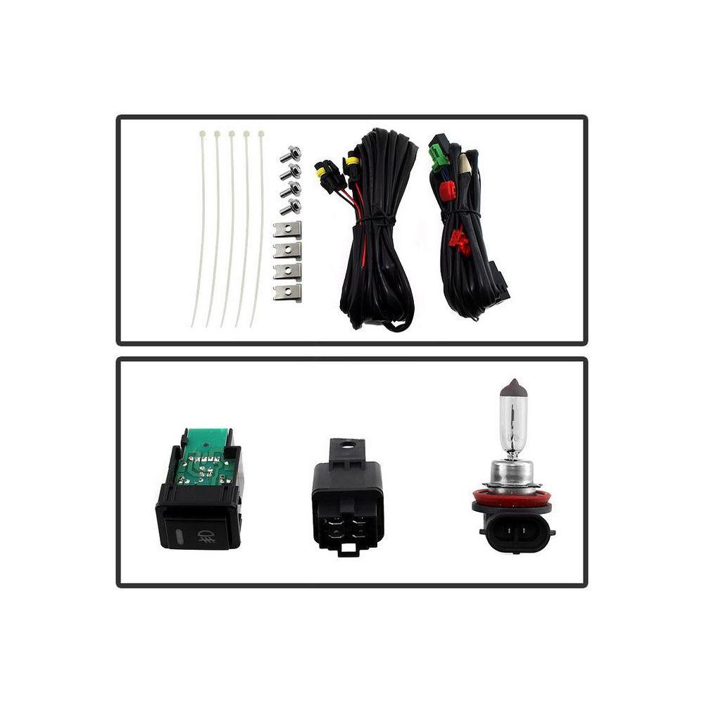 Spyder Auto ® - Clear OEM Style Fog Lights (5080257)
