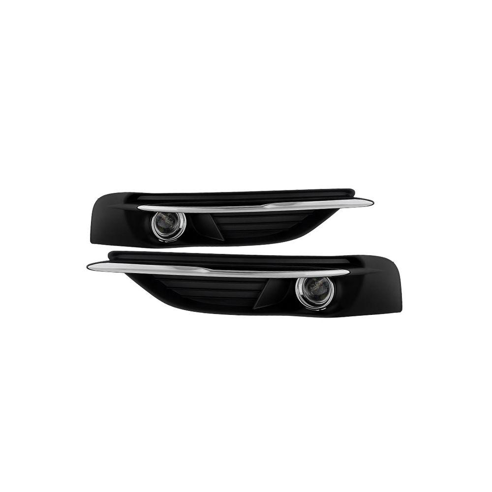 Spyder Auto ® - Clear OEM Style Fog Lights (5080387)