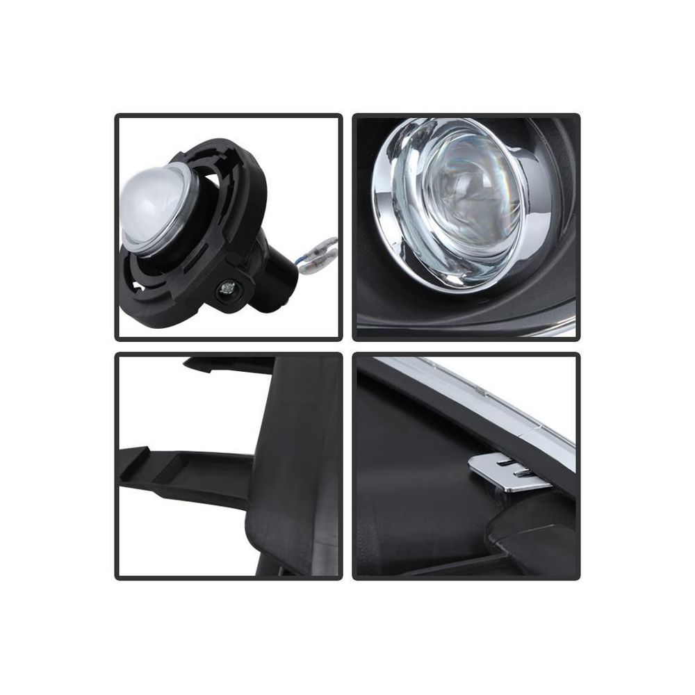 Spyder Auto ® - Clear OEM Style Fog Lights (5080394)