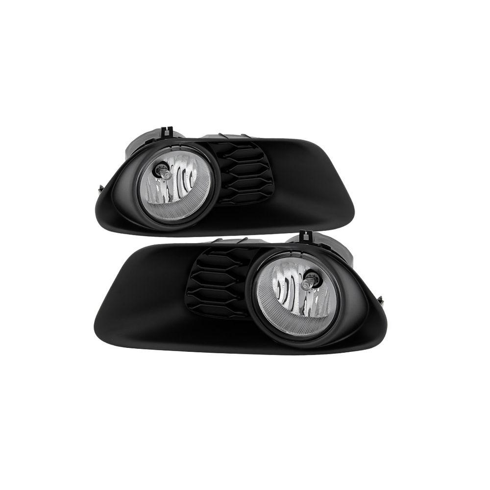 Spyder Auto ® - Clear OEM Style Fog Lights (5080417)