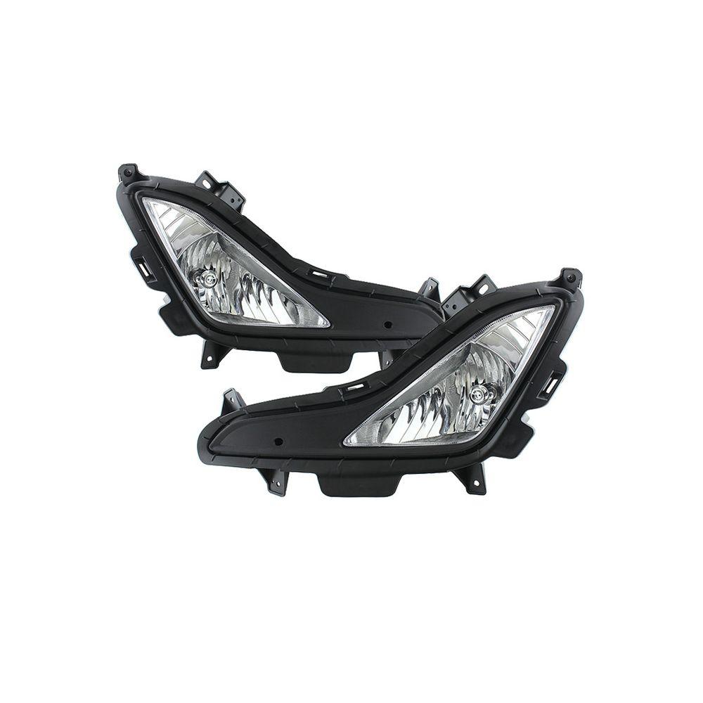 Spyder Auto ® - Clear OEM Style Fog Lights (5080462)
