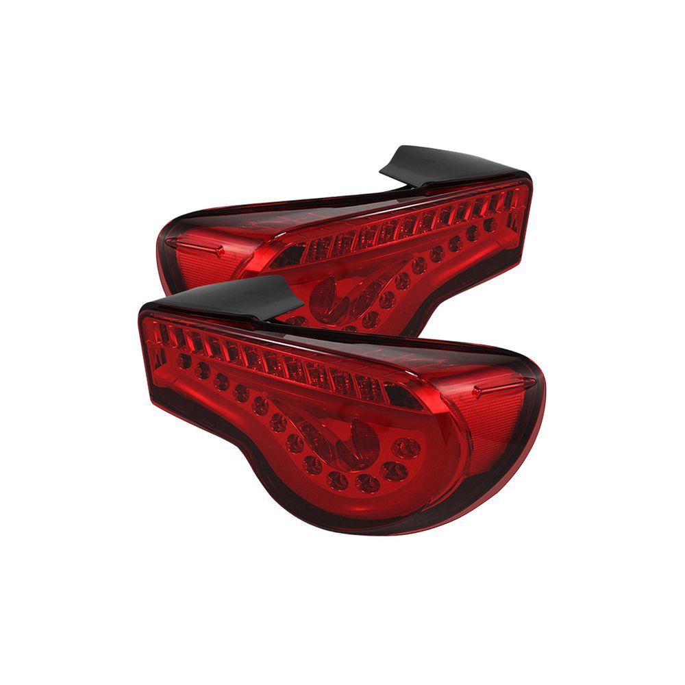 Spyder Auto ® - JDM Red Light Bar LED Tail Lights (5073297)