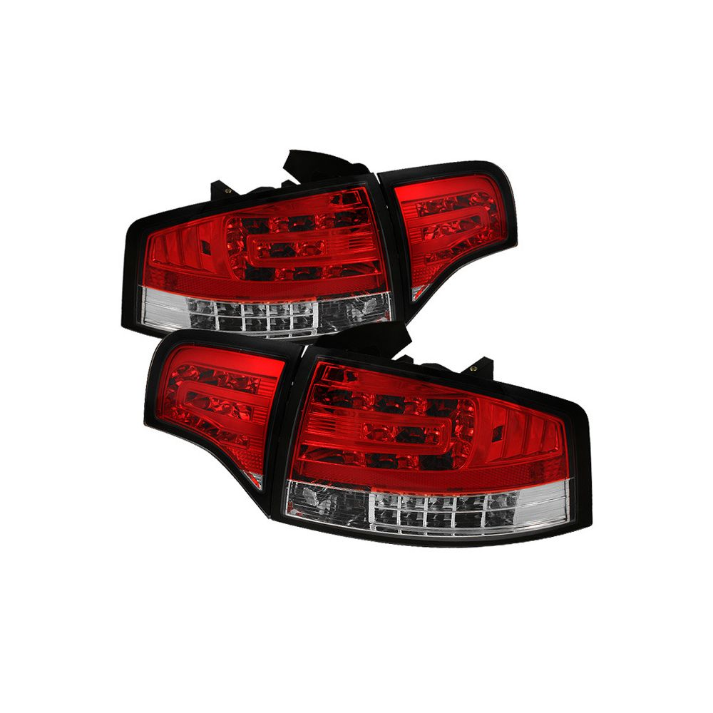 Spyder Auto ® - Red Clear LED Tail Lights (5029294)
