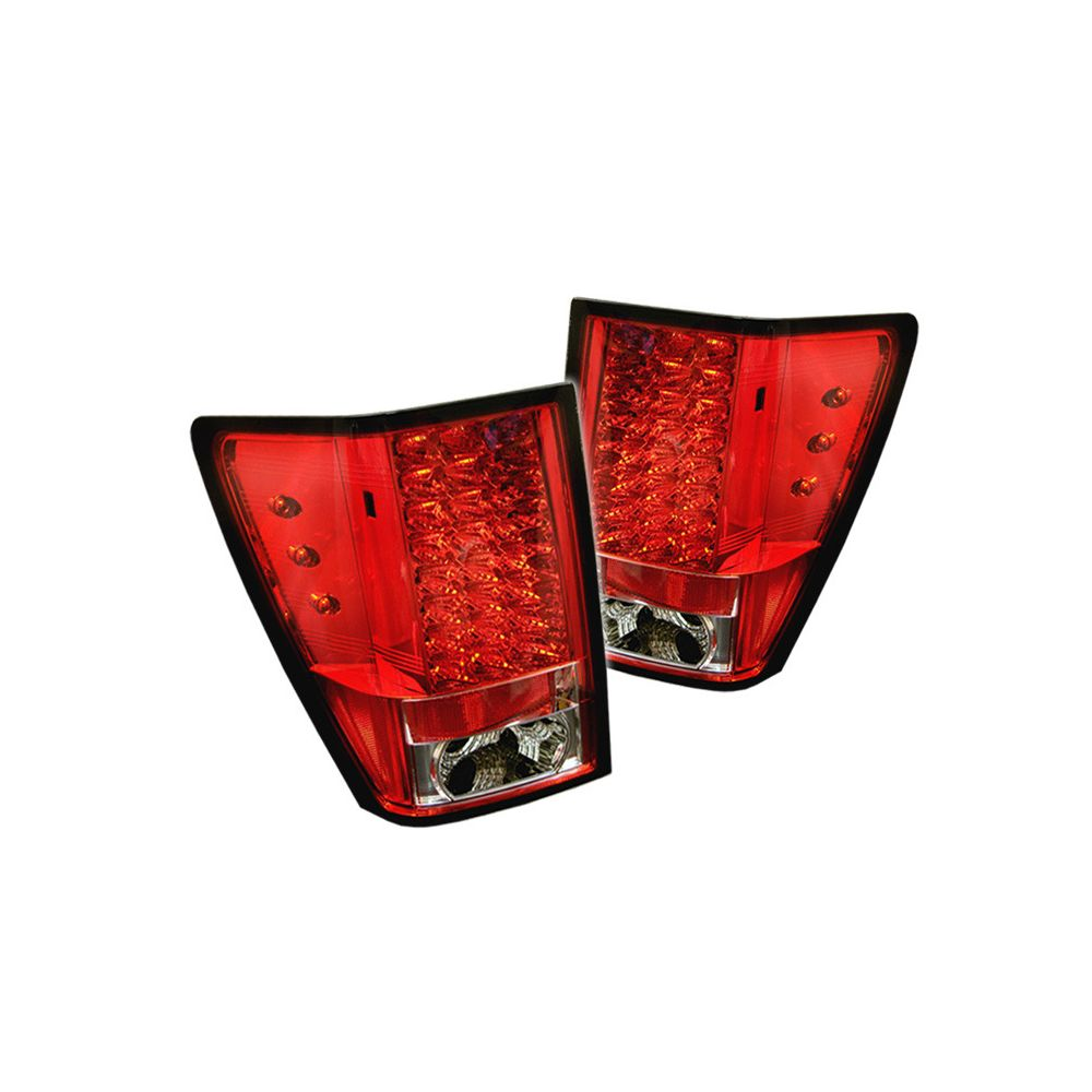 Spyder Auto ® - Red Clear LED Tail Lights (5005540)
