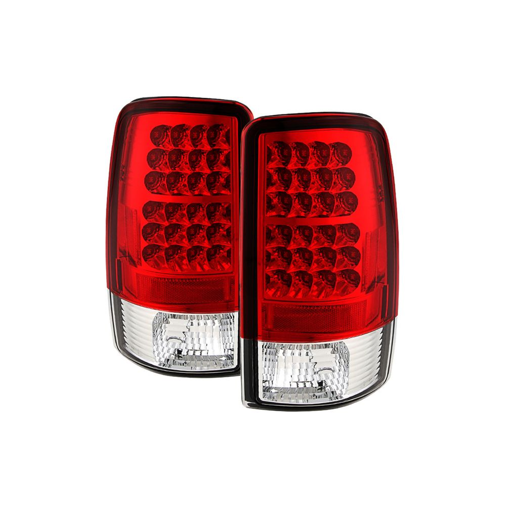 Spyder Auto ® - Red Clear LED Tail Lights (5001542)