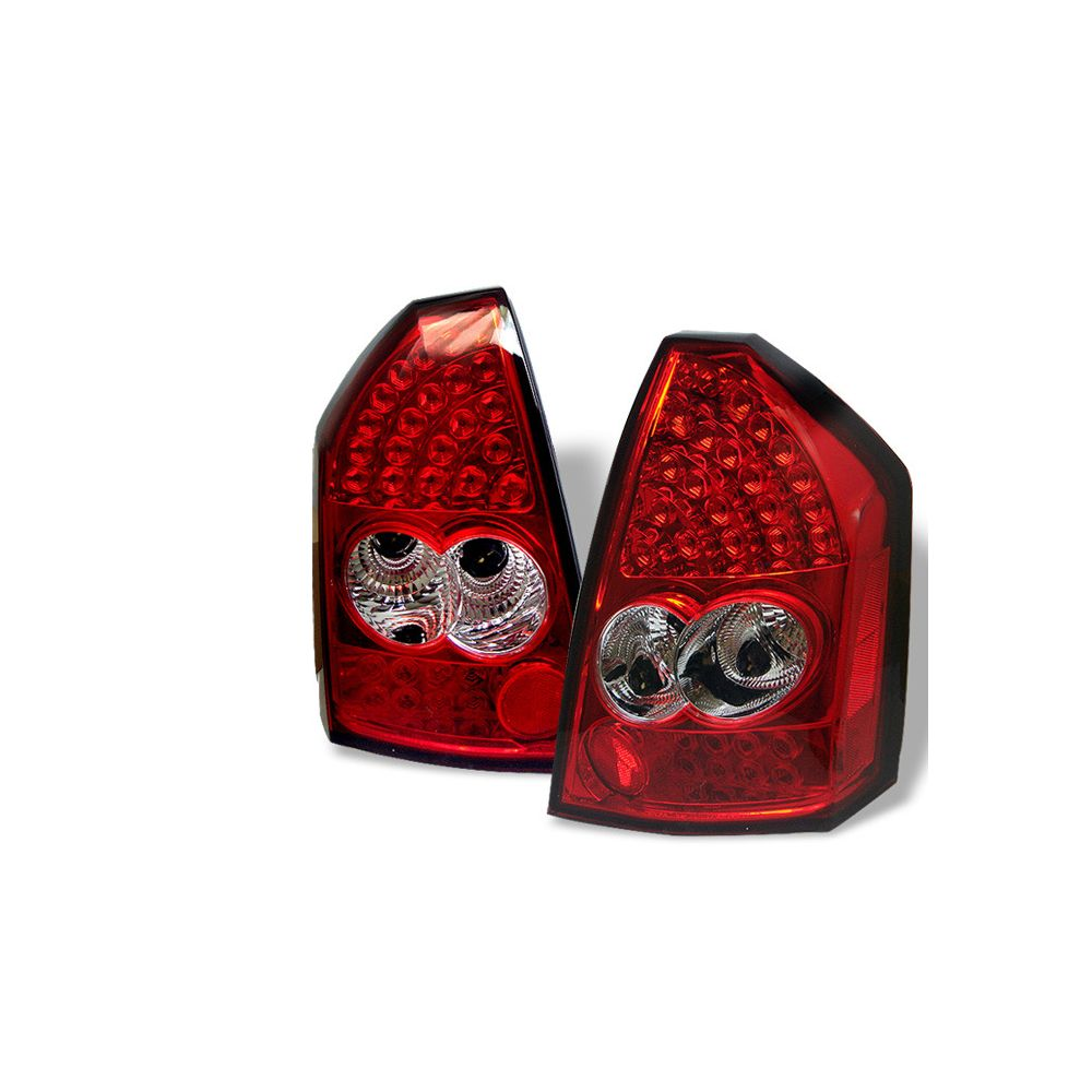 Spyder Auto ® - Red Clear LED Tail Lights (5001641)