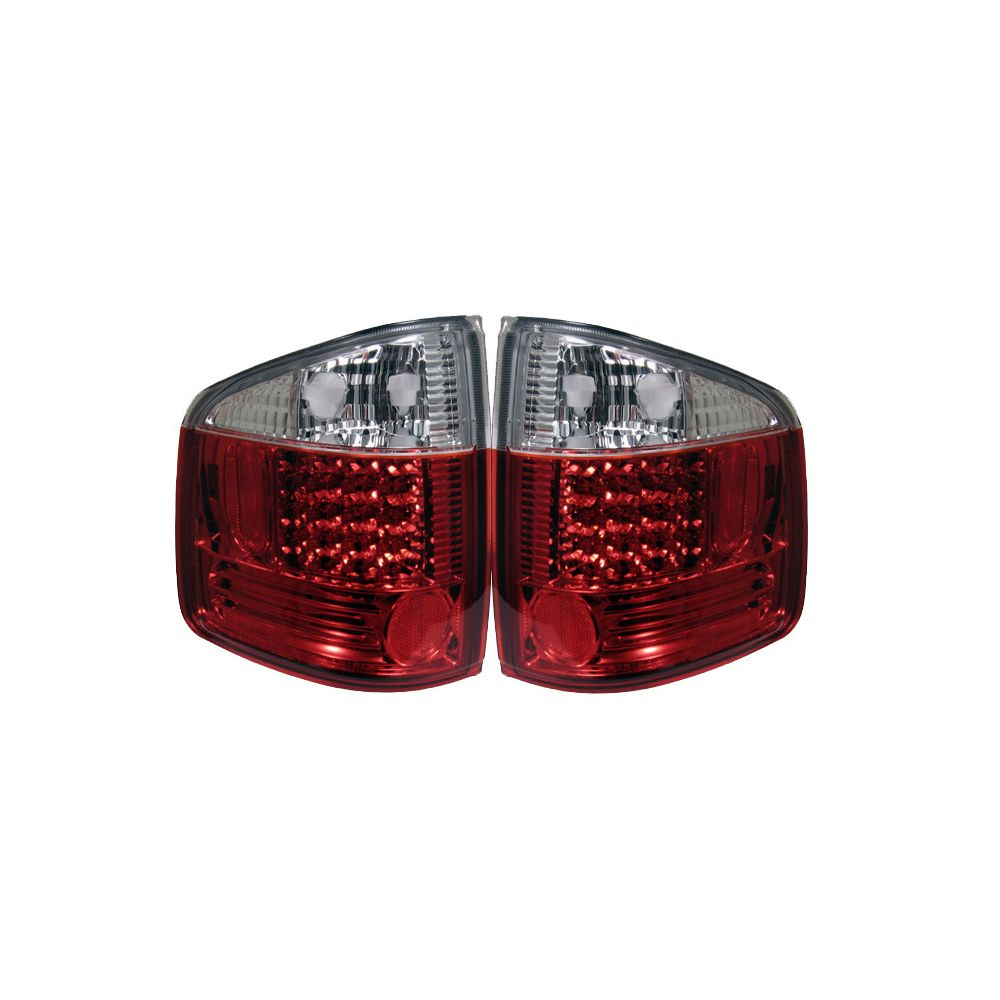 Spyder Auto ® - Red Clear LED Tail Lights (5001931)