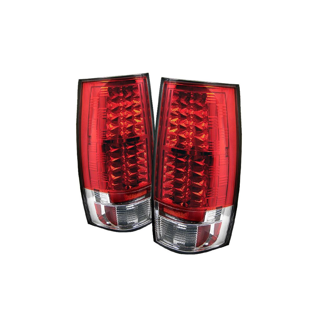Spyder Auto ® - Red Clear LED Tail Lights (5002150)