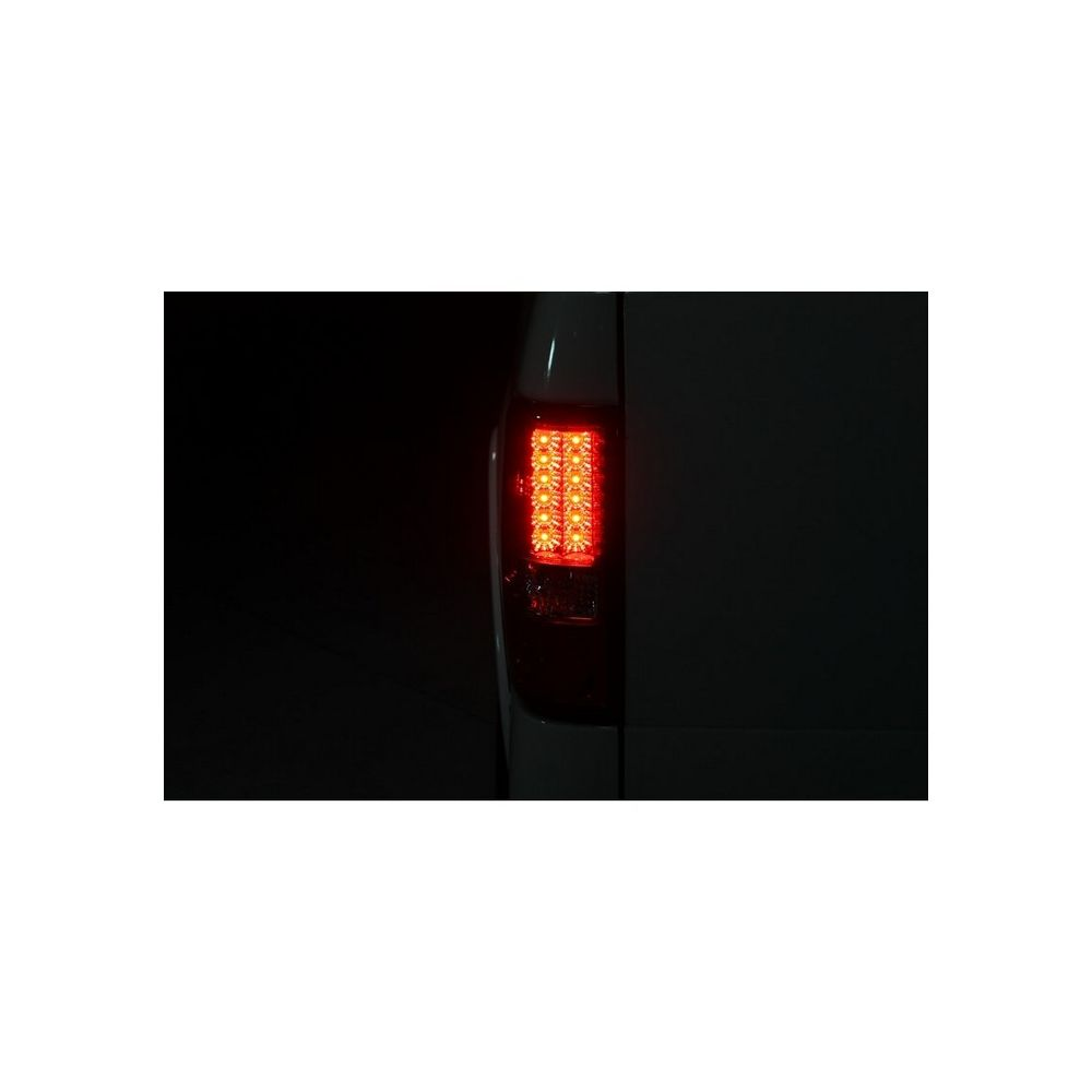 Spyder Auto ® - Red Clear LED Tail Lights (5003263)
