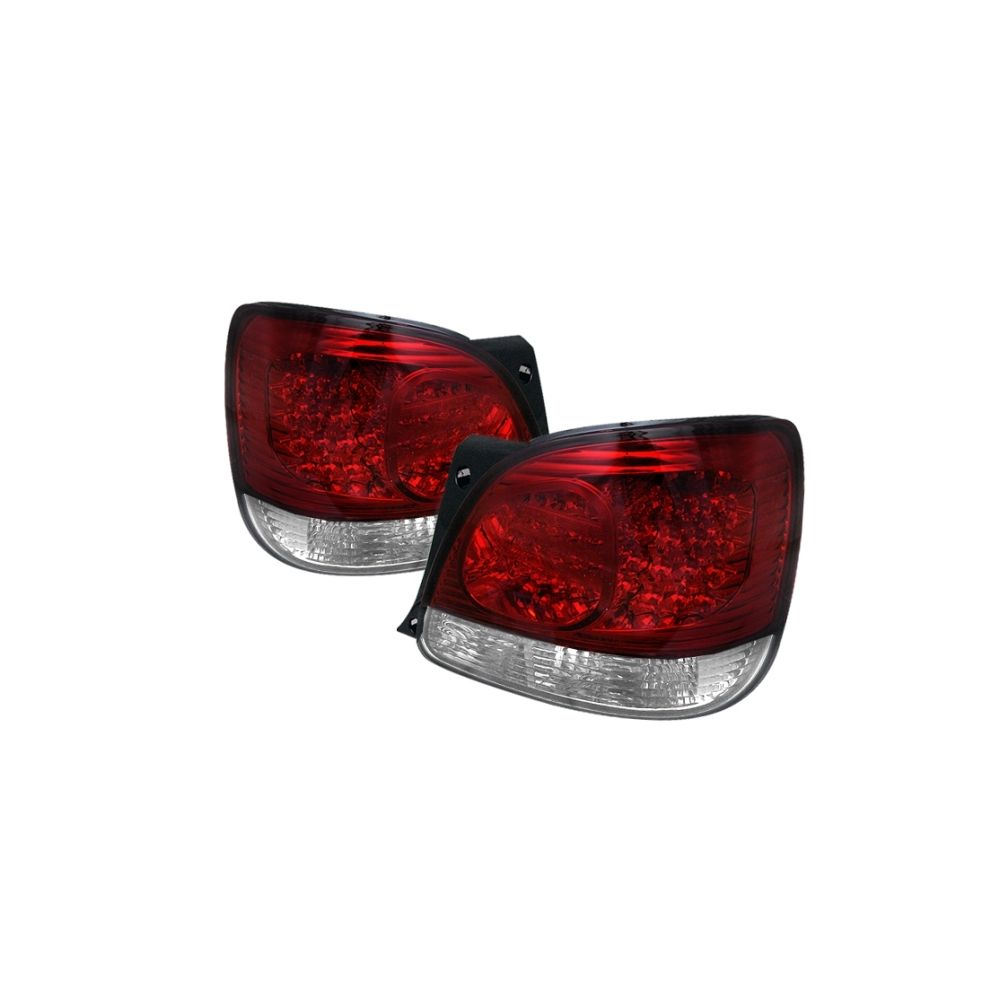 Spyder Auto ® - Red Clear LED Tail Lights (5005731)
