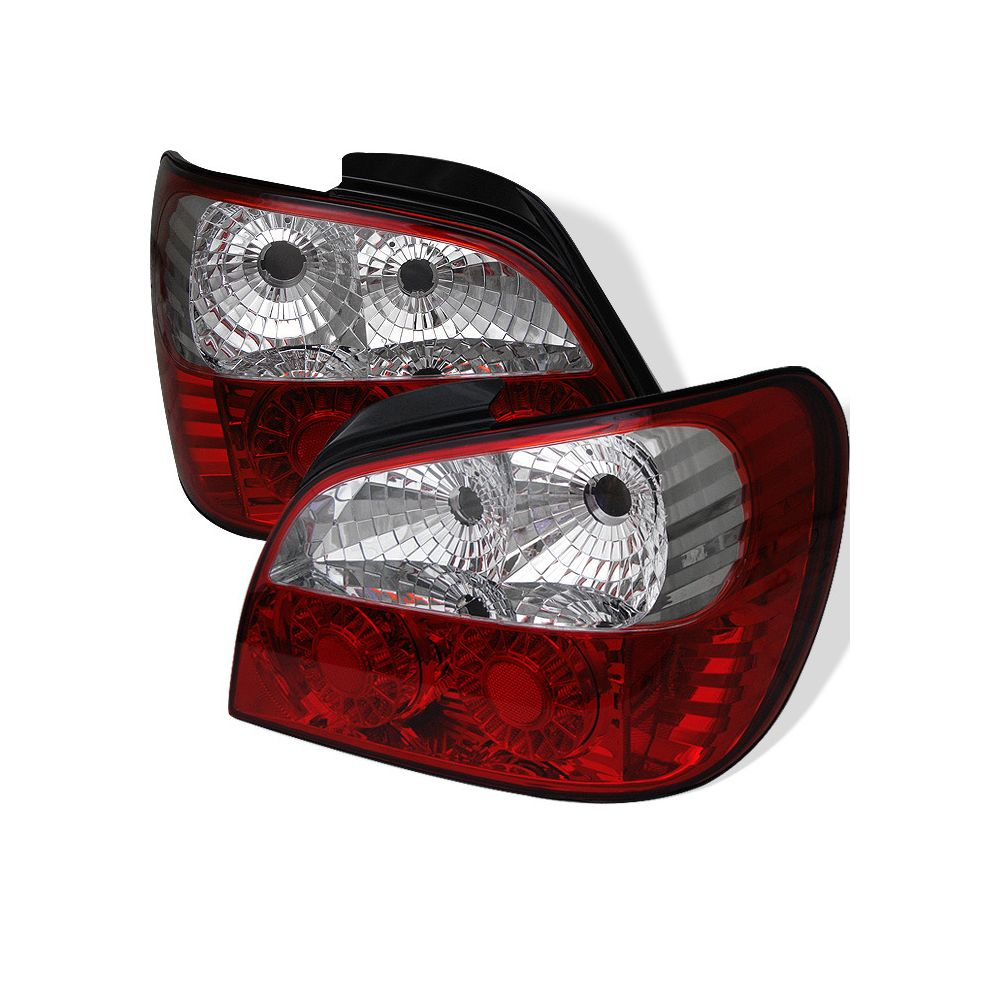 Spyder Auto ® - Red Clear LED Tail Lights (5007230)