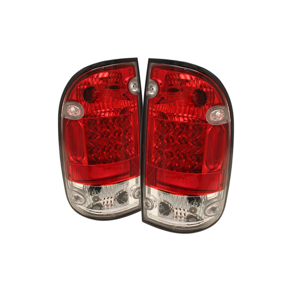 Spyder Auto ® - Red Clear LED Tail Lights (5008022)