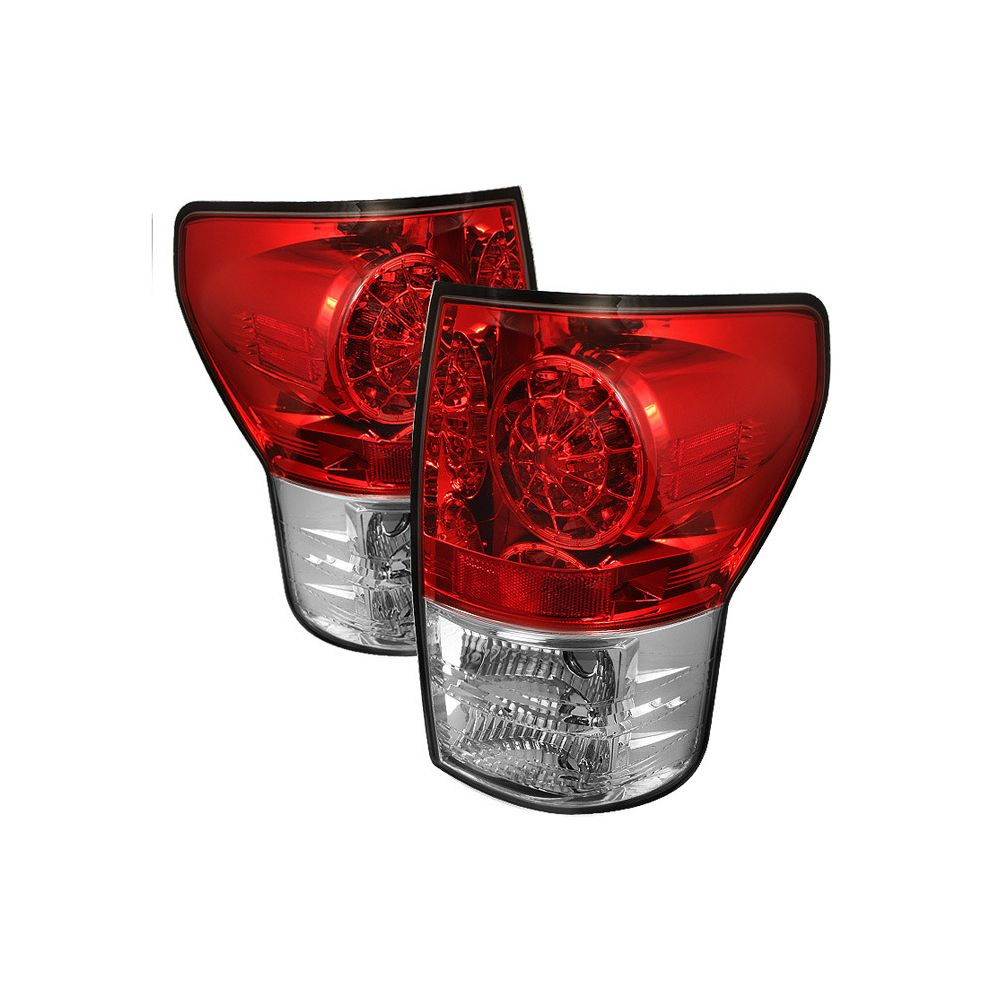Spyder Auto ® - Red Clear LED Tail Lights (5029607)