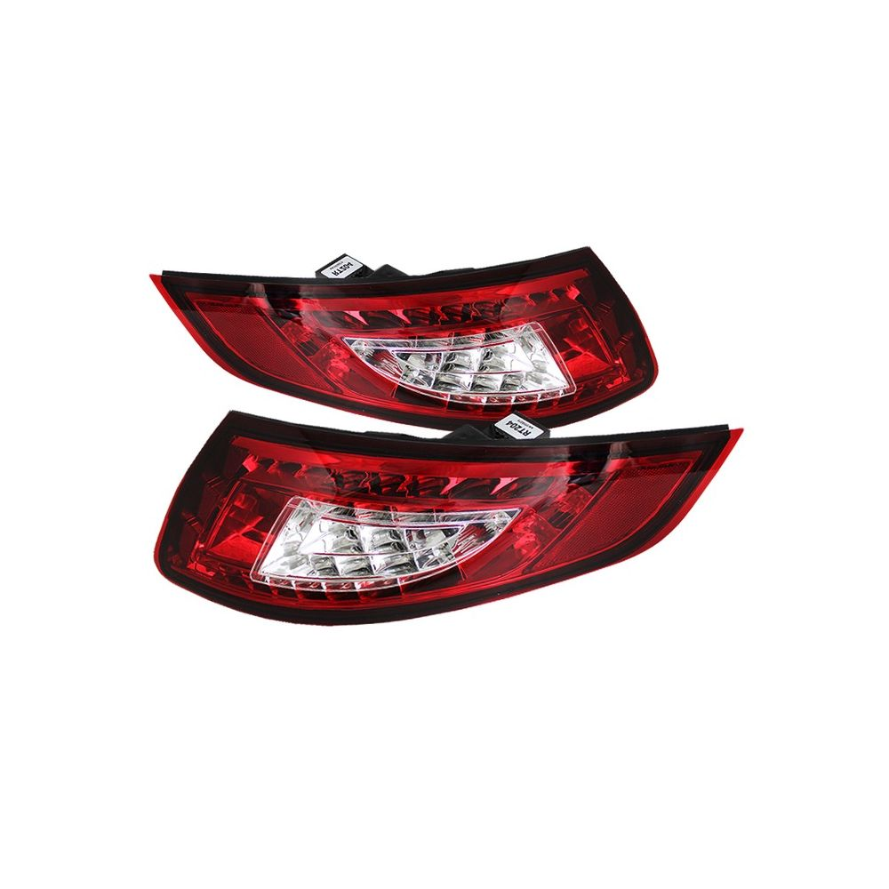 Spyder Auto ® - Red Clear LED Tail Lights (5037978)