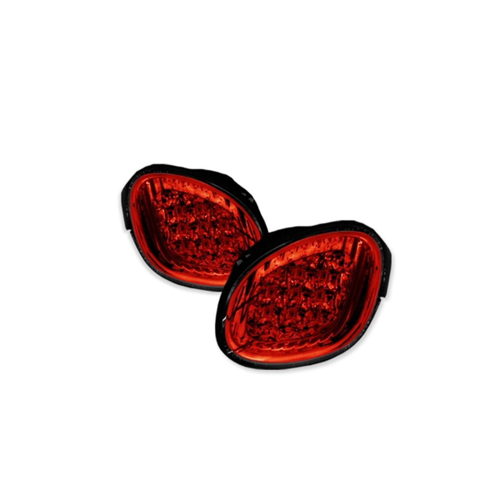 Spyder Auto ® - Red Clear LED Trunk Tail Lights (5005779)
