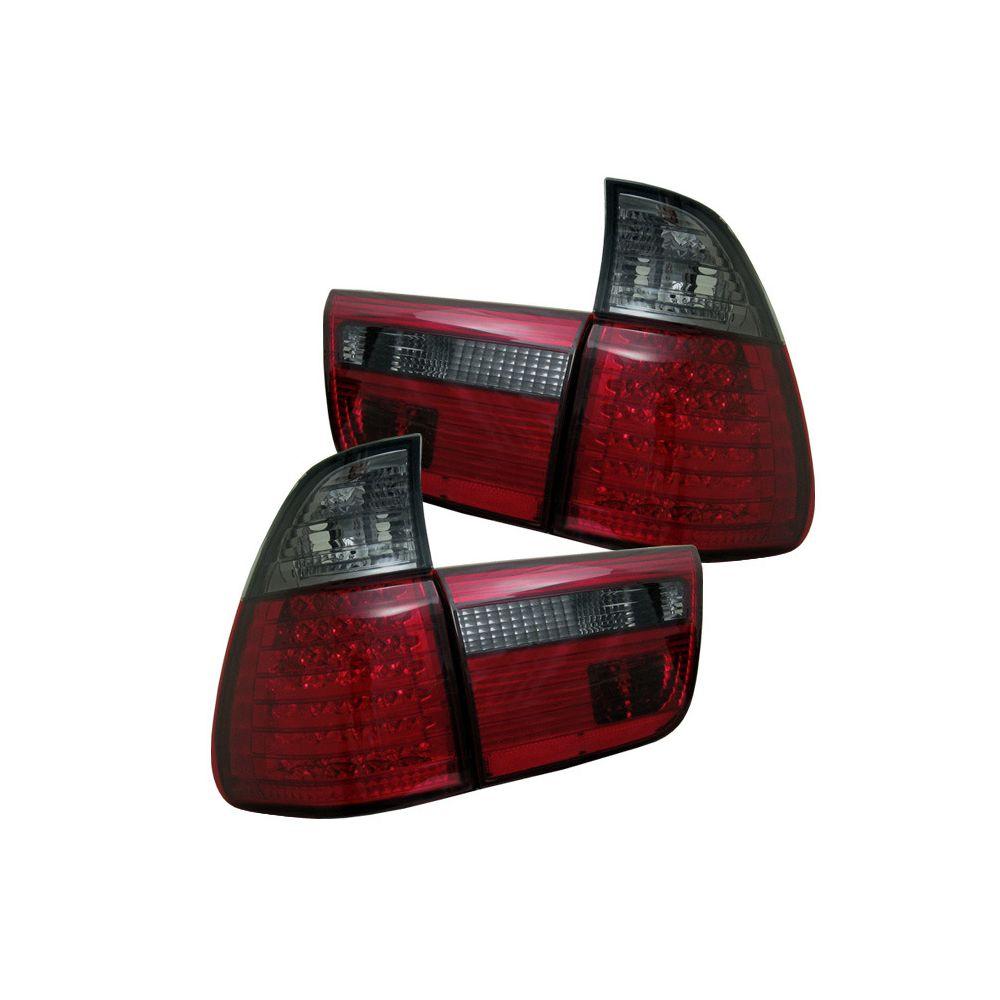 Spyder Auto ® - Red Smoke 4PCS LED Tail Lights (5000811)
