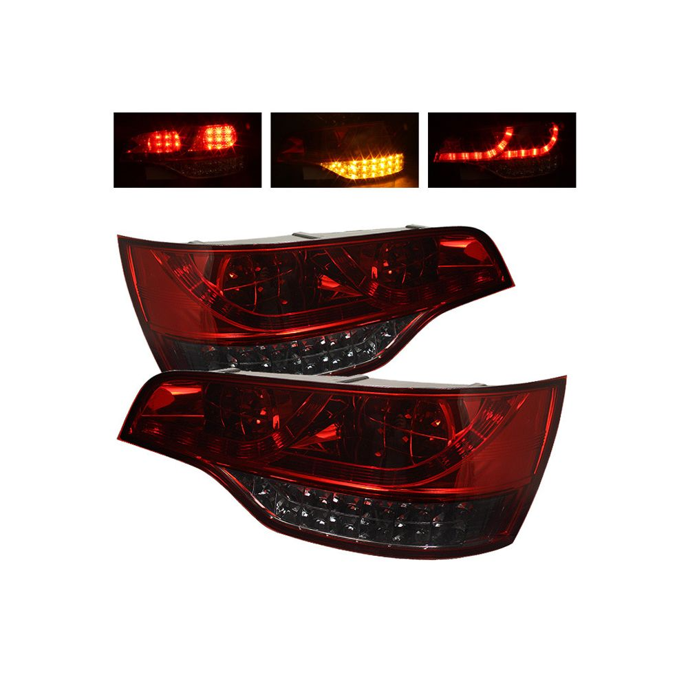 Spyder Auto ® - Red Smoke LED Tail Lights (5000309)