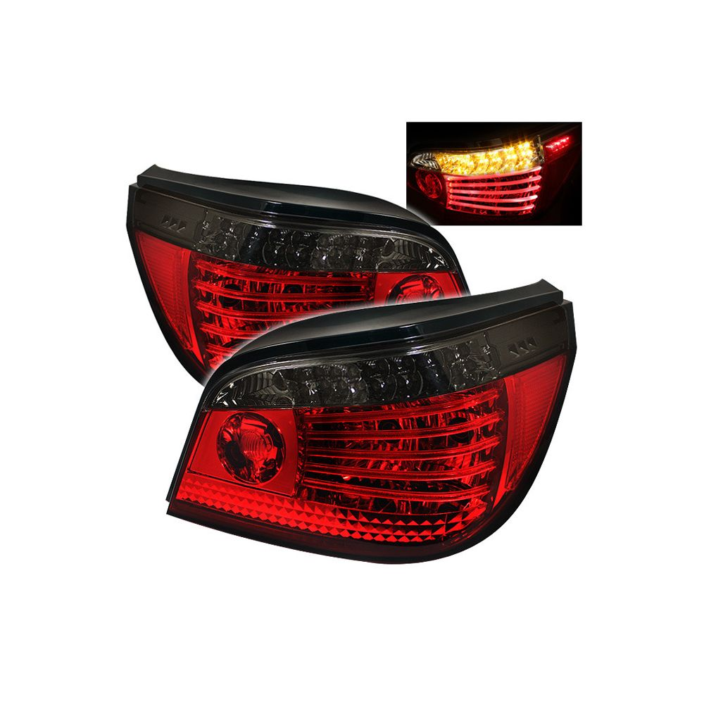 Spyder Auto ® - Red Smoke LED Tail Lights (5000873)