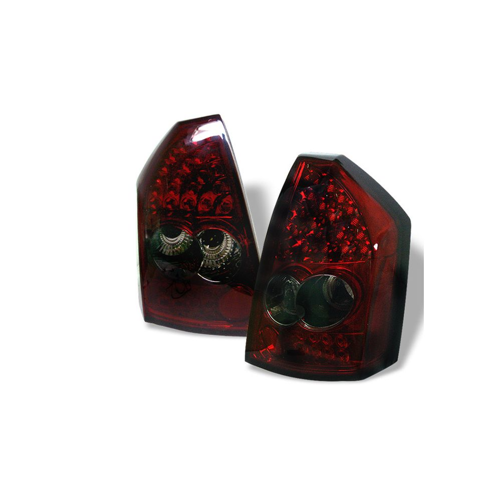 Spyder Auto ® - Red Smoke LED Tail Lights (5000965)