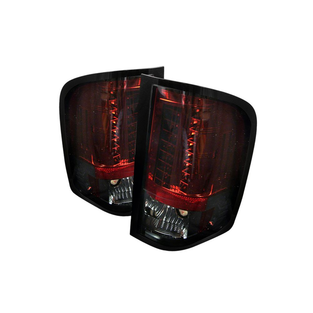 Spyder Auto ® - Red Smoke LED Tail Lights (5001801)
