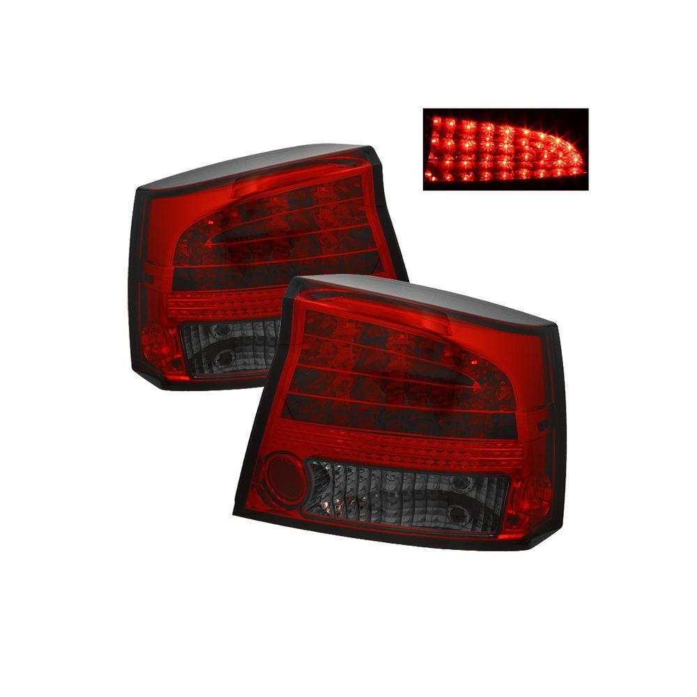 Spyder Auto ® - Red Smoke LED Tail Lights (5002303)