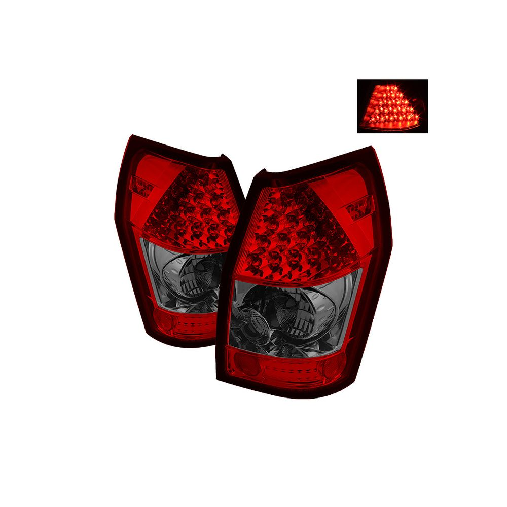 Spyder Auto ® - Red Smoke LED Tail Lights (5002396)