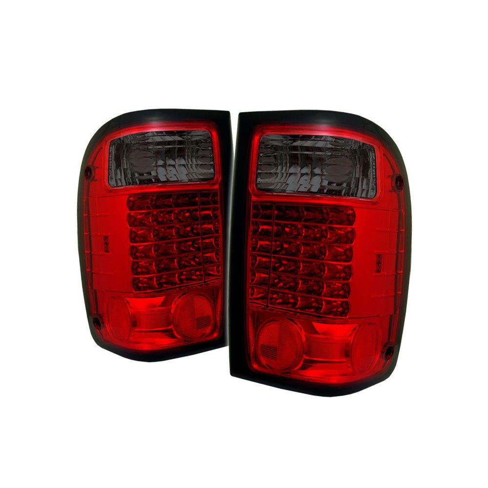 Spyder Auto ® - Red Smoke LED Tail Lights (5003782)