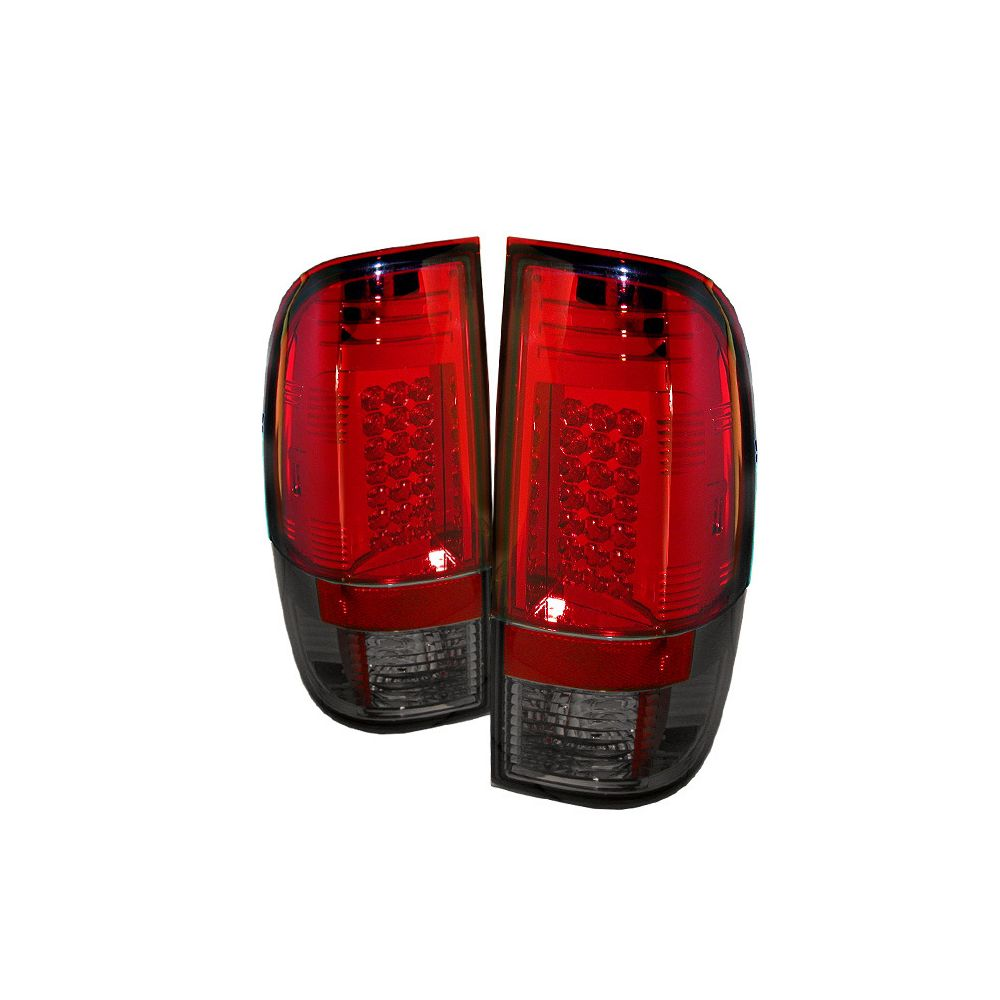 Spyder Auto ® - Red Smoke LED Tail Lights (5003928)