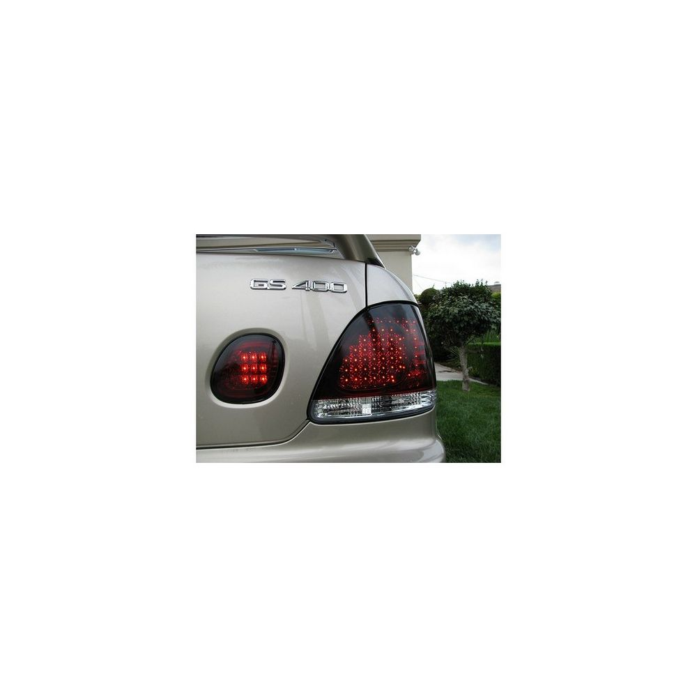 Spyder Auto ® - Red Smoke LED Tail Lights (5005748)