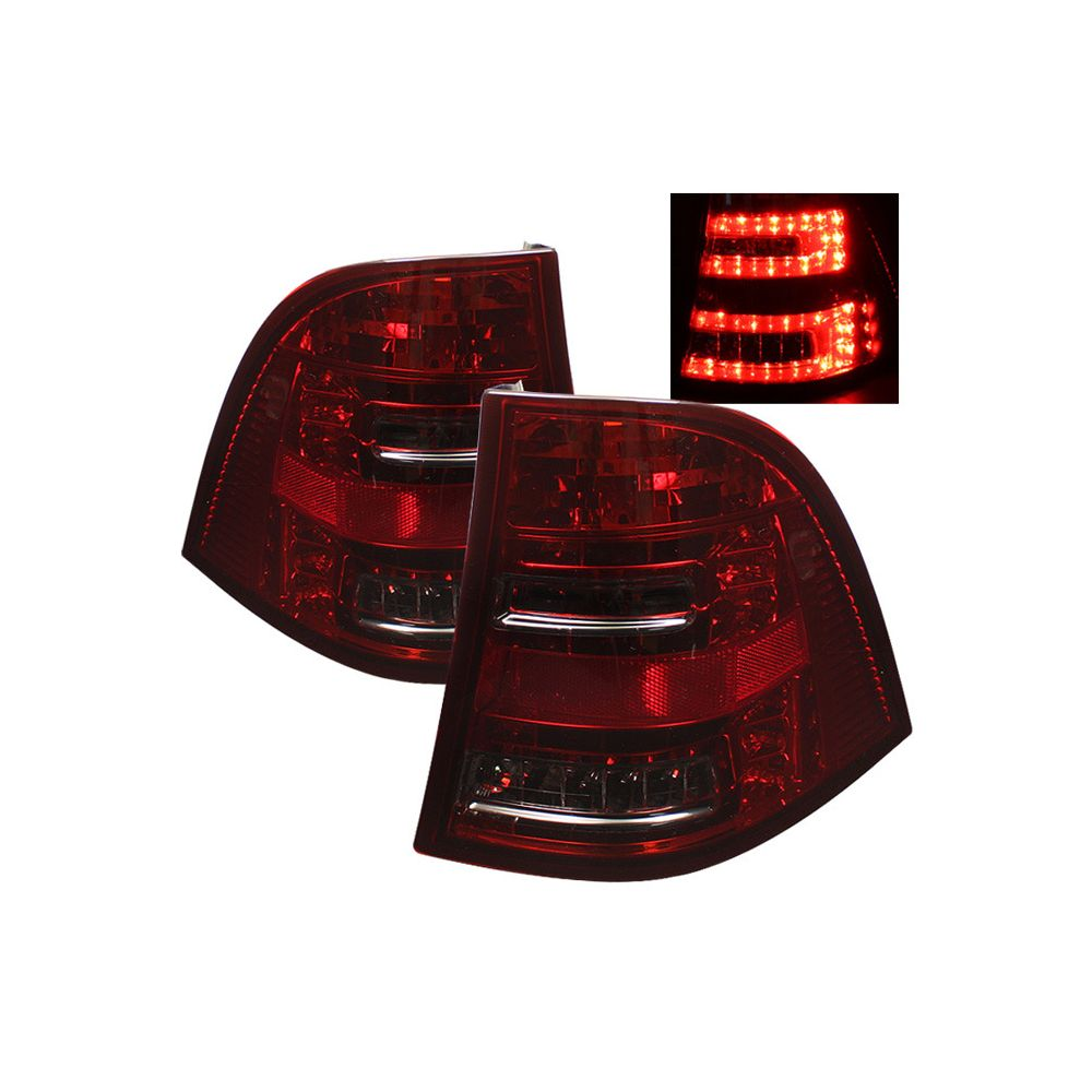 Spyder Auto ® - Red Smoke LED Tail Lights (5006110)