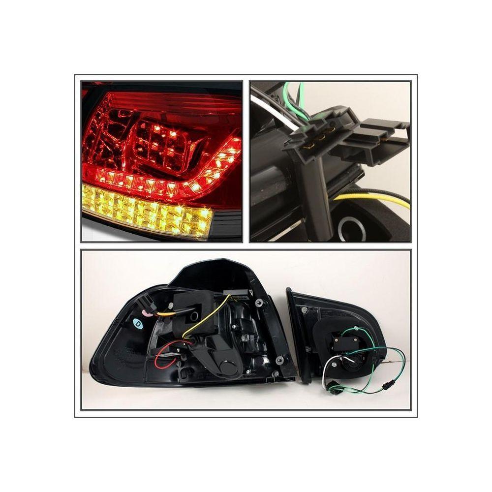 Spyder Auto ® - Red Smoke LED Tail Lights (5008206)
