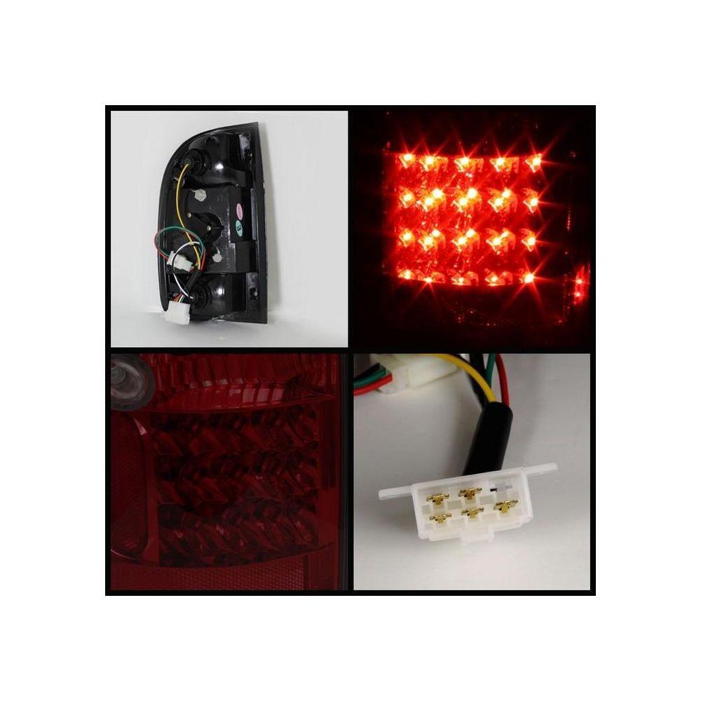 Spyder Auto ® - Red Smoke LED Tail Lights (5033758)