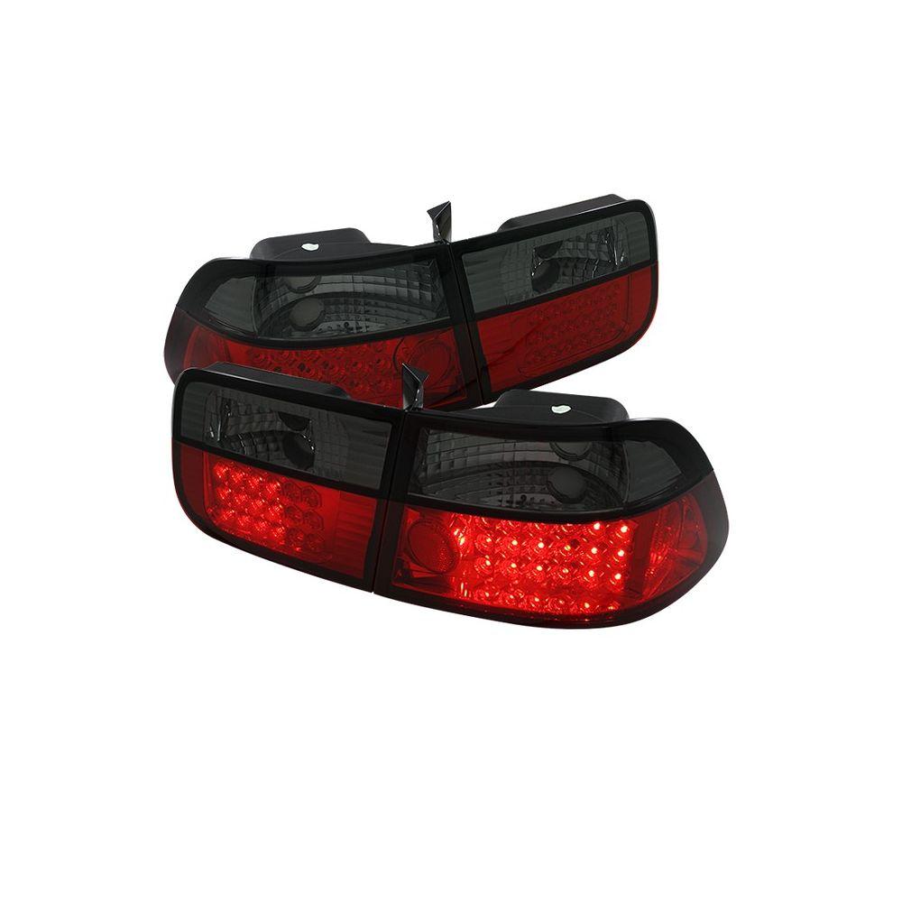 Spyder Auto ® - Red Smoke LED Tail Lights (5039743)