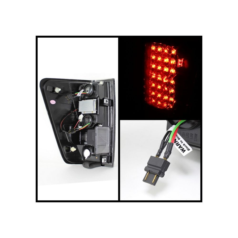 Spyder Auto ® - Red Smoke LED Tail Lights (5070081)