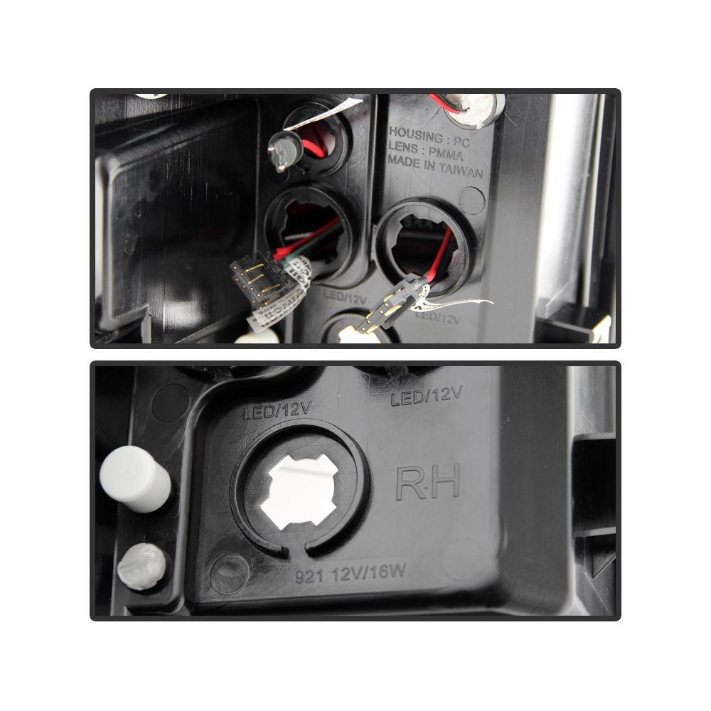 Spyder Auto ® - Red Smoke LED Tail Lights (5080684)