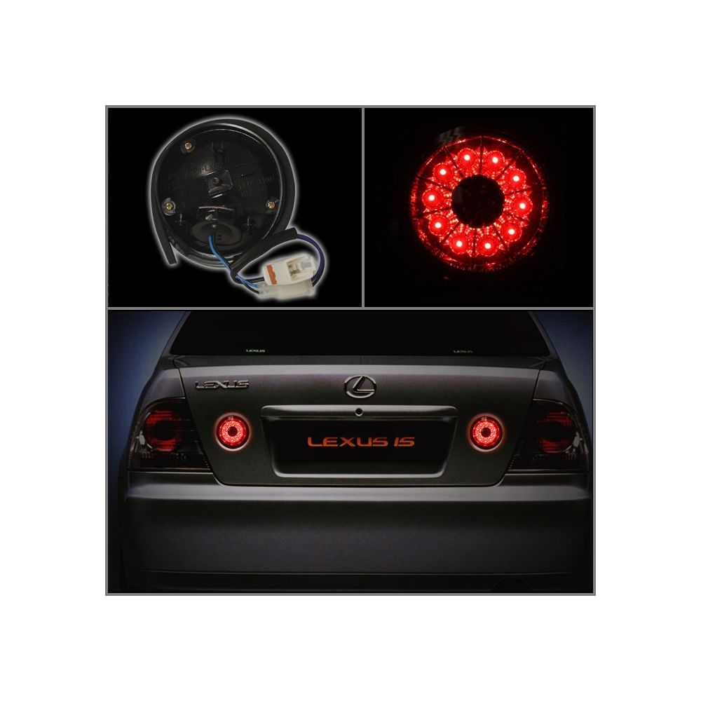 Spyder Auto ® - Red Smoke LED Trunk Tail Lights (5005878)