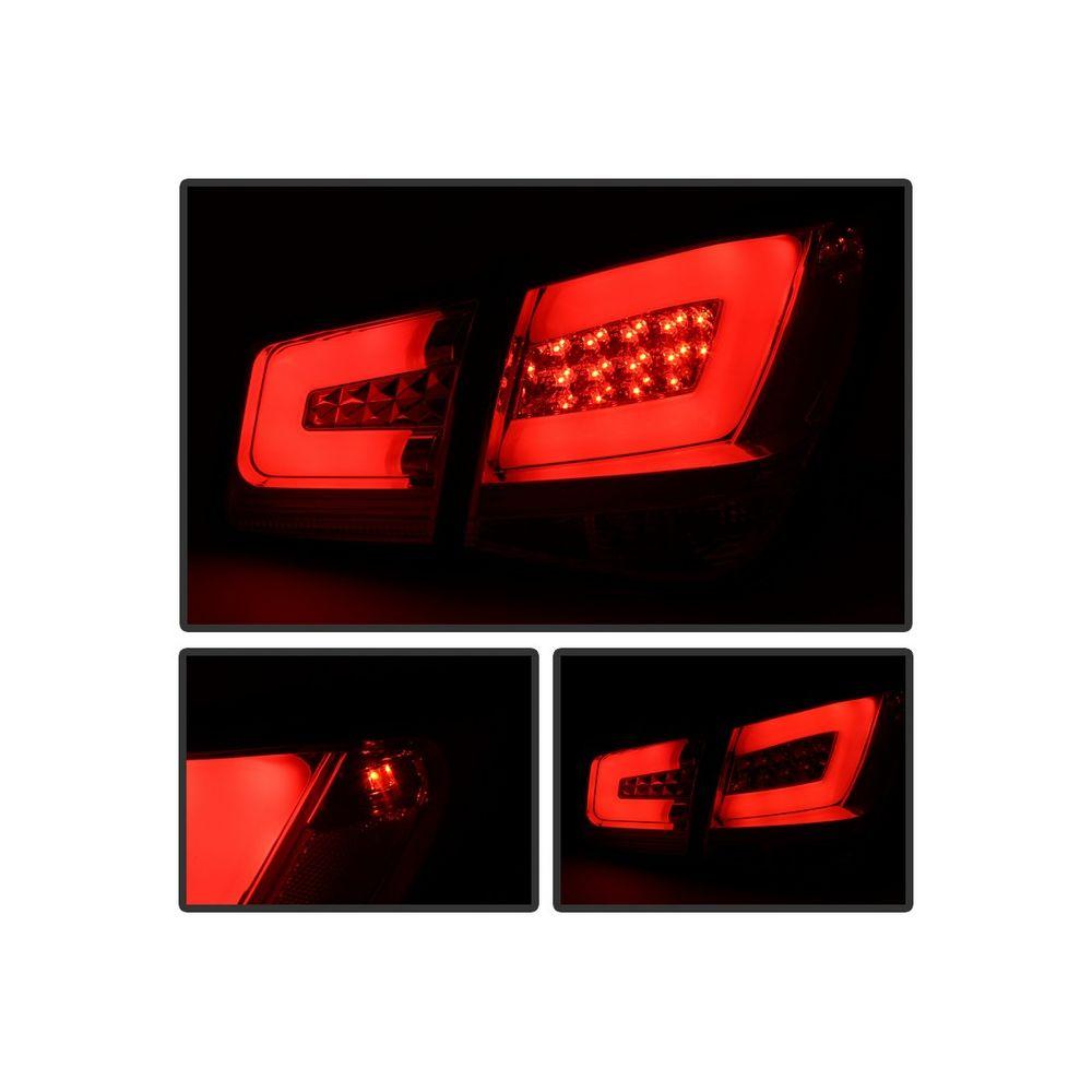 Spyder Auto ® - Red Smoke Light Bar LED Tail Lights (5076625)