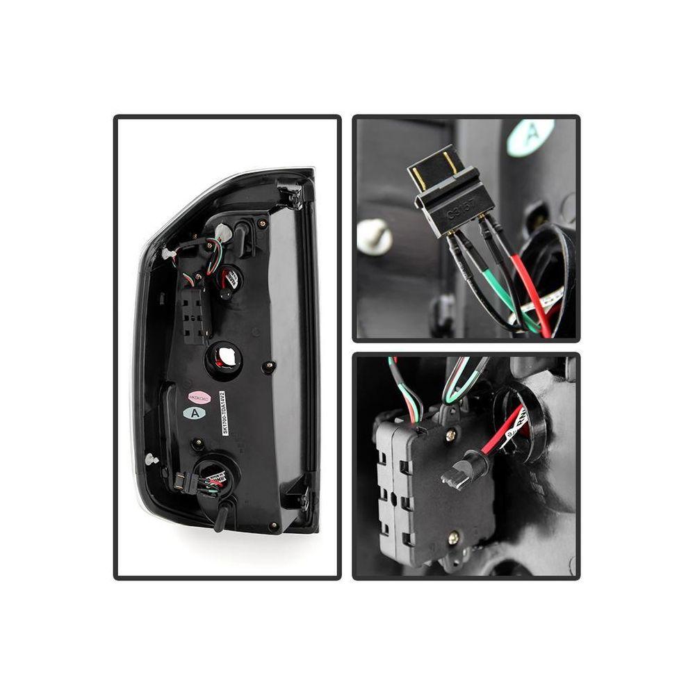 Spyder Auto ® - Red Smoke Light Bar LED Tail Lights (5080189)