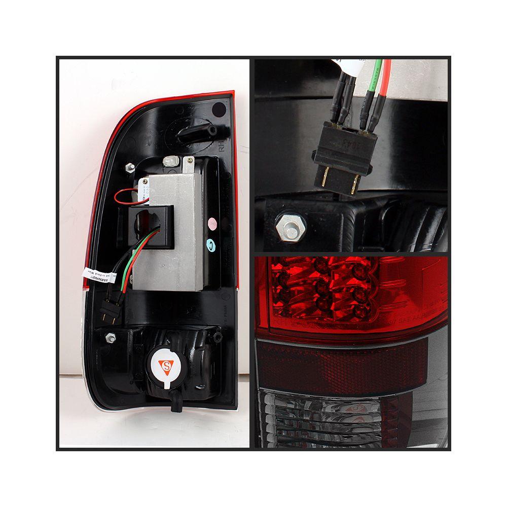 Spyder Auto ® - Red Smoke Version 2 LED Tail Lights (5029164)