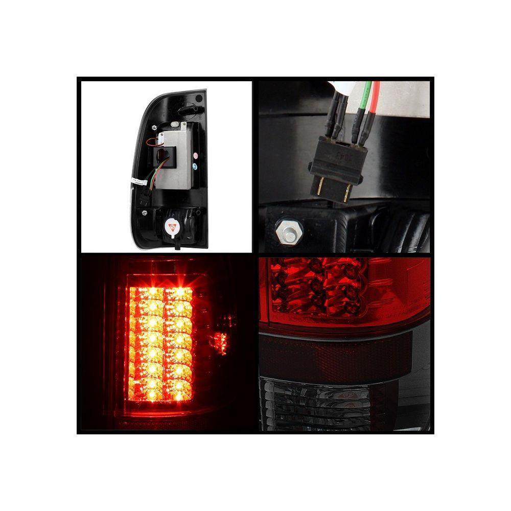 Spyder Auto ® - Red Smoke Version 2 LED Tail Lights (5029218)