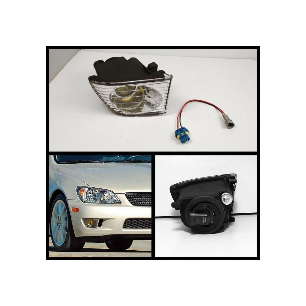 Spyder Auto ® - Right Side Clear OEM Style Fog Light (5021052)