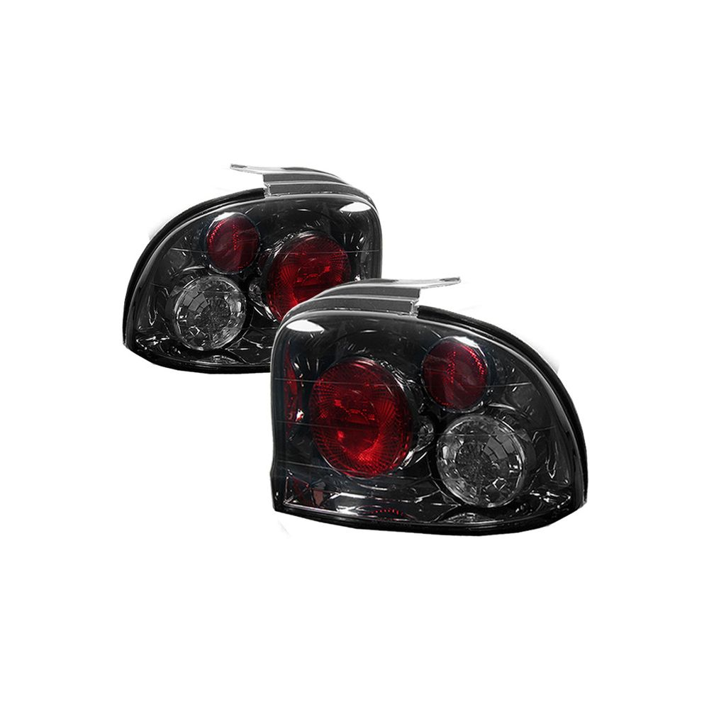 Spyder Auto ® - Smoke Euro Style Tail Lights (5002518)