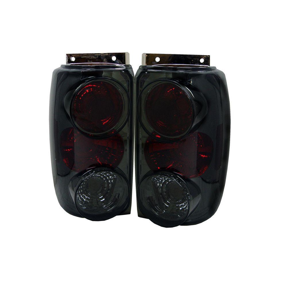 Spyder Auto ® - Smoke Euro Style Tail Lights (5003027)