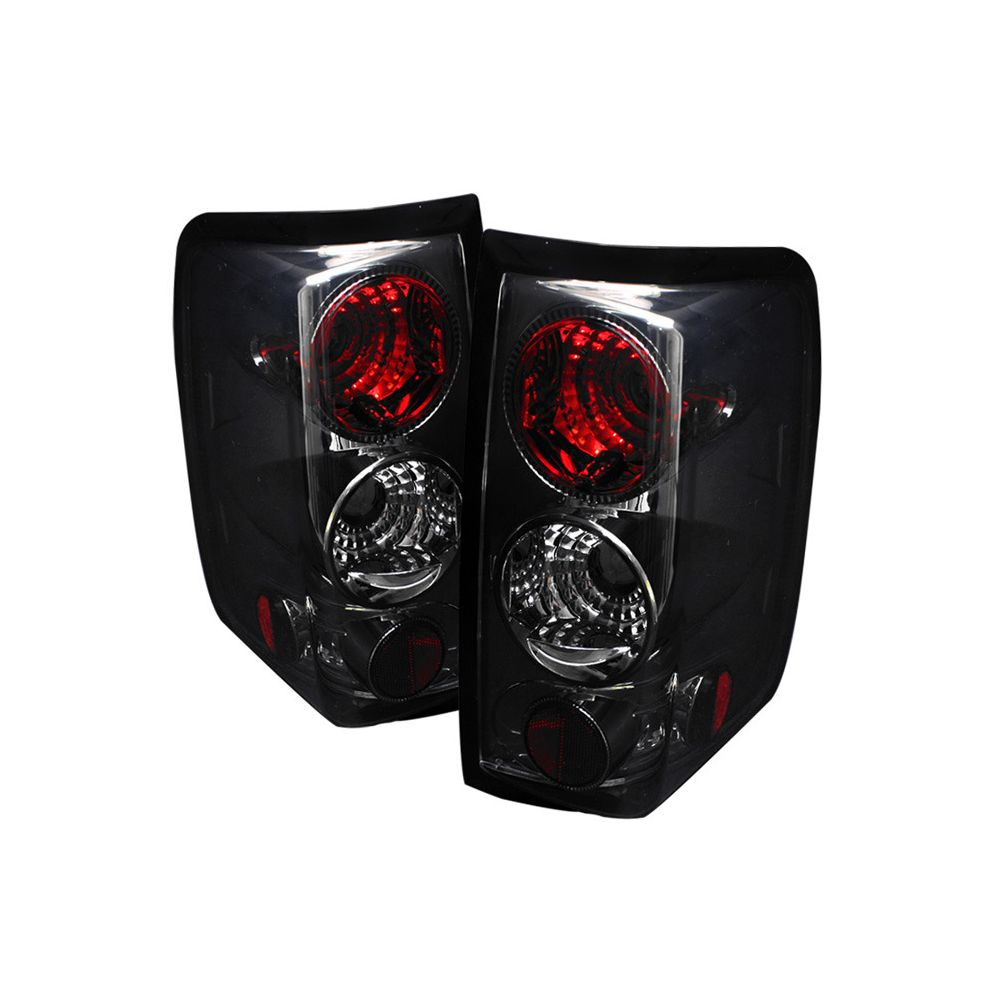 Spyder Auto ® - Smoke Euro Style Tail Lights (5003294)