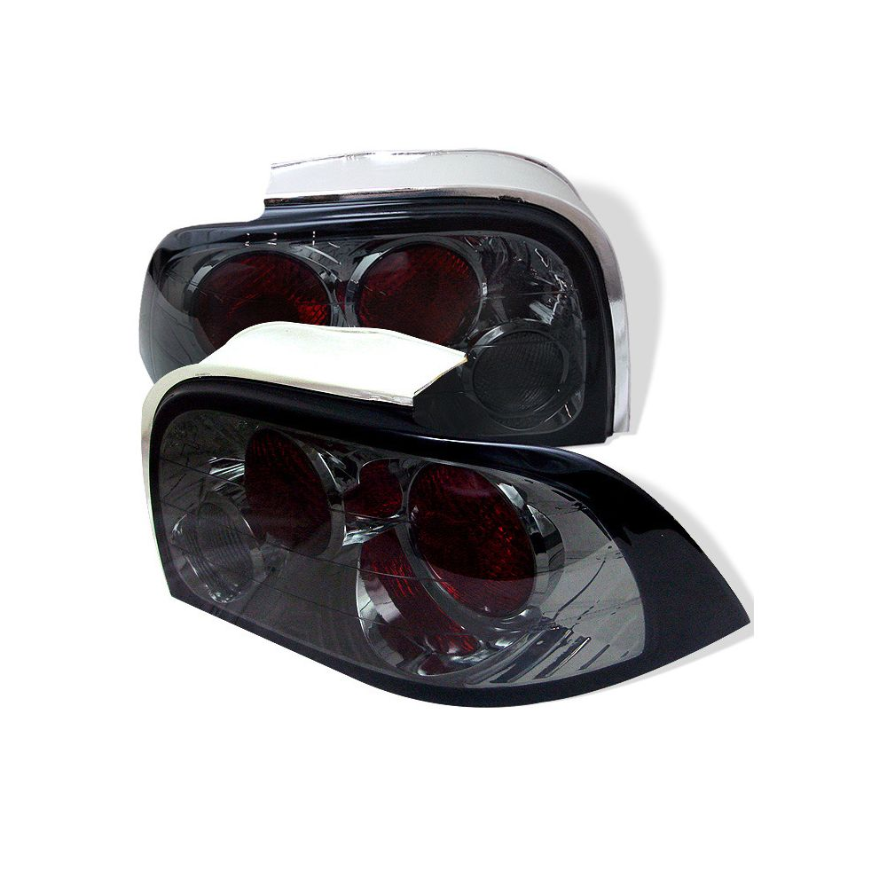 Spyder Auto ® - Smoke Euro Style Tail Lights (5003614)