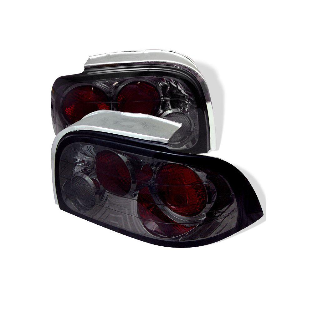 Spyder Auto ® - Smoke Euro Style Tail Lights (5003652)